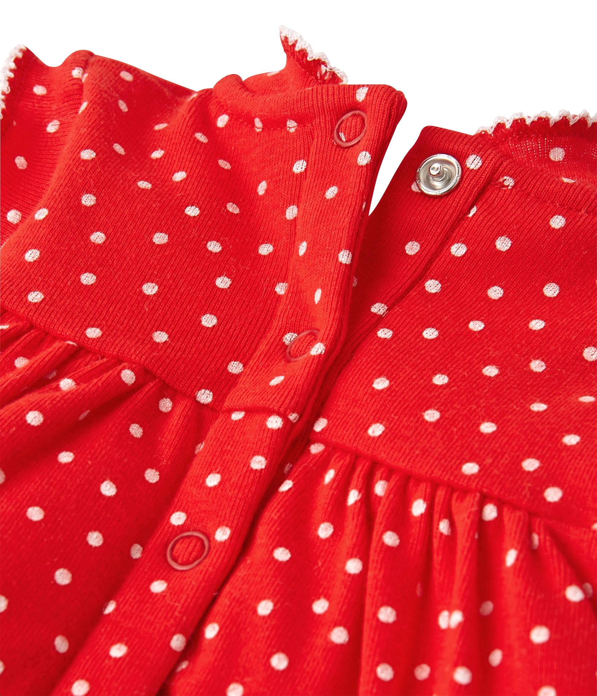Girls  print short pyjamas - www.petit-bateau.bg 12ef6cc93