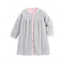 Girl`s fleece bathrobe