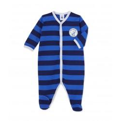 Baby boy`s striped pajamas