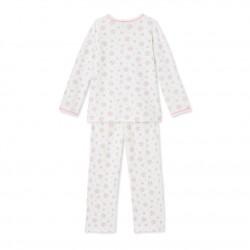 Пижама без ходила за бебе момиче на milleraies райе