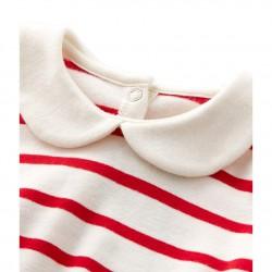 Baby boy's striped cap