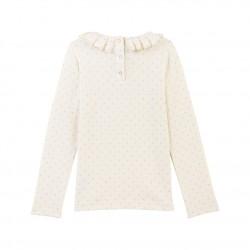 Boy's baseball jacket in cotton fleece
