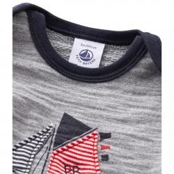 Baby boy`s sweatshirt with motif