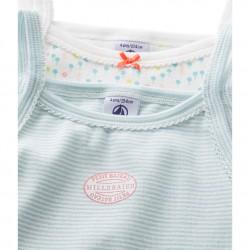 Baby girl's print swimsuit