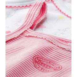 Baby girl's print sleepsuit