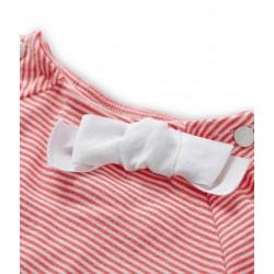 Girls' trousers in dark denim