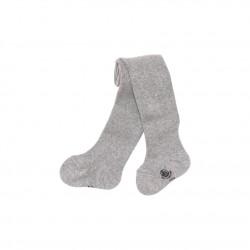 Чорапогащник за момиче в обикновен памук