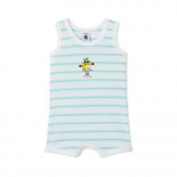 Baby boy`s tank-top bodysuit