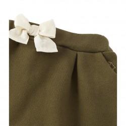 Панталон за бебе момиче от мек плат