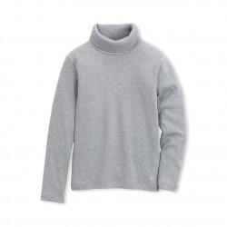 Пуловер с поло яка за дете