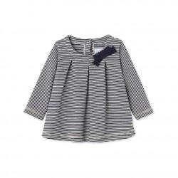 Блуза на milleraies-райе за бебе момиче