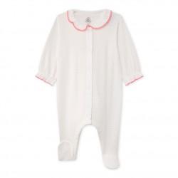 Пижама за бебе момиче в цветен принт