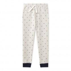 Панталон за момче от мек вълнен плат
