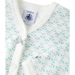 Пижама за бебе момиче с цветен принт