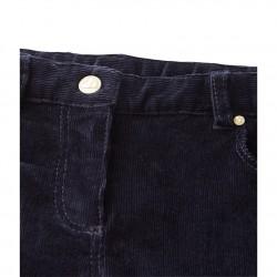 Панталон за момиче от кадифе