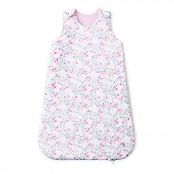 Baby girl`s reversible sleeping bag
