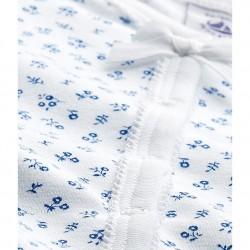 Baby girl`s print sleepsuit