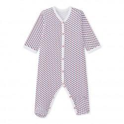 Baby boy`s print sleepsuit