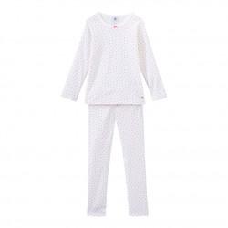 Girl`s heart print pyjamas