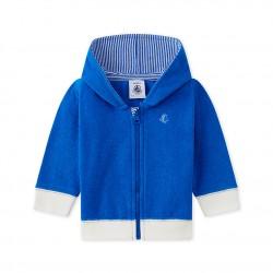 Baby boy`s hooded sweatshirt