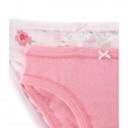 Set of 2 girls' panties