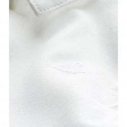 Бяла риза за бебе момче