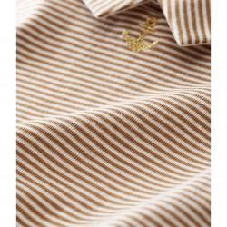 Блуза-боди с дълъг ръкав за бебе момче