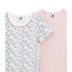 К-т 2бр.тениска с къс ръкав за малко момиче