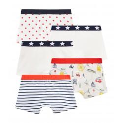 Boys' Boxer Shorts - 5-Piece Set