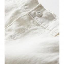 Панталон от лен за бебе момче