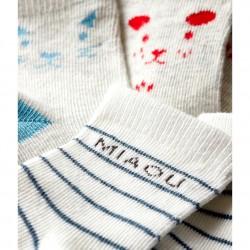 Комплект три чифта чорапи за бебе момче