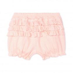 Гащета в розово райе за бебе момиче