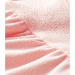 Baby Girls` Short-Sleeved Plain Blouse