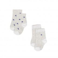 К-т 2 чифта чорапи за бебе момче