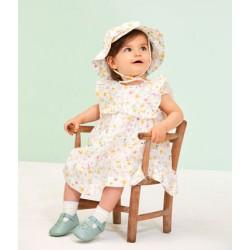 Шапка за бебе момиче