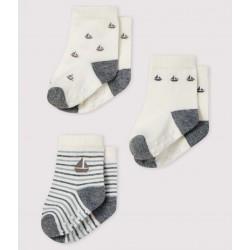 К-т 3чифта чорапи за бебе