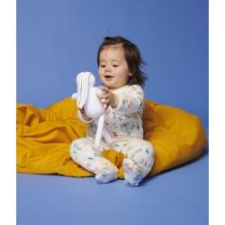 Играчка заек-утешител за бебе